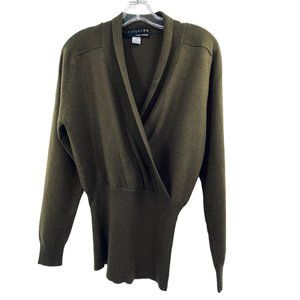 St Gillian by Kay Unger 100% Cashmere Sweater Sz S